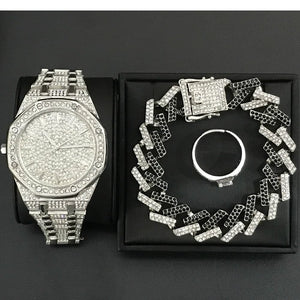 Hype Series Set (Watch, Bracelet & Ring)