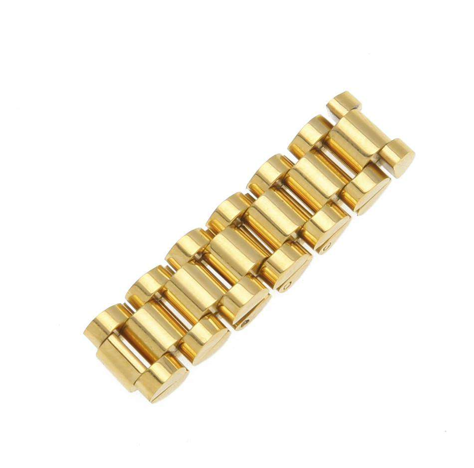 Gold/Silver Watch Band Ring - no-stylist-bling