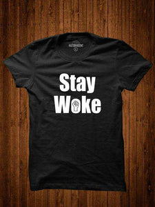 BLM Stay Woke T-Shirt