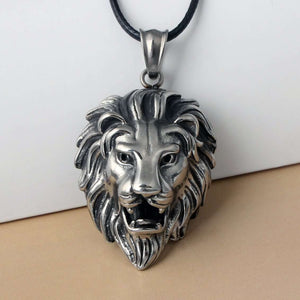 King Lion Silver Chain - no-stylist-bling