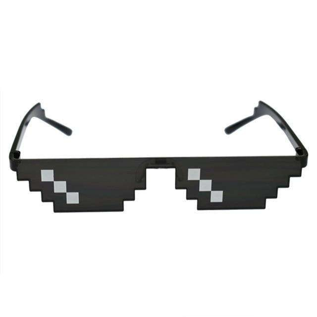 8 Bit Pixelated Sunglasses - no-stylist-bling