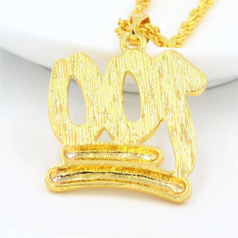 Keep It 100 Gold Necklace - no-stylist-bling