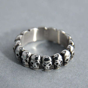 Skull Headz Ring - no-stylist-bling