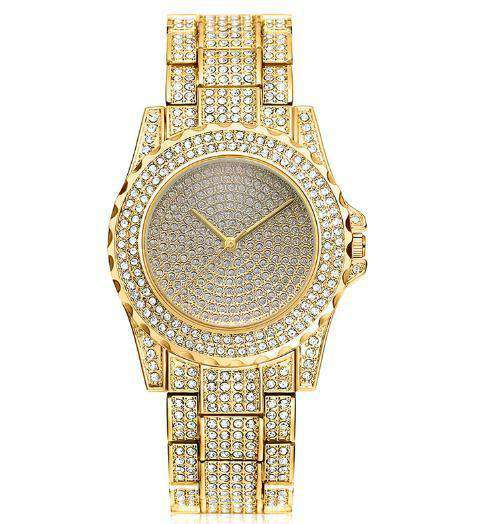 Bling Geometric Bracelet + Watch Set - no-stylist-bling
