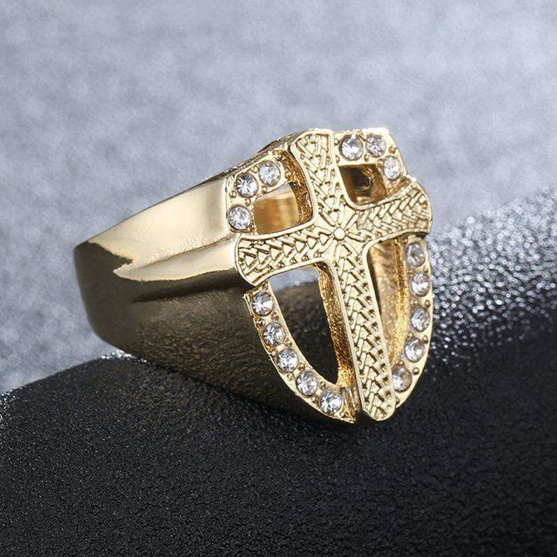 #blessup gold cross ring - no-stylist-bling
