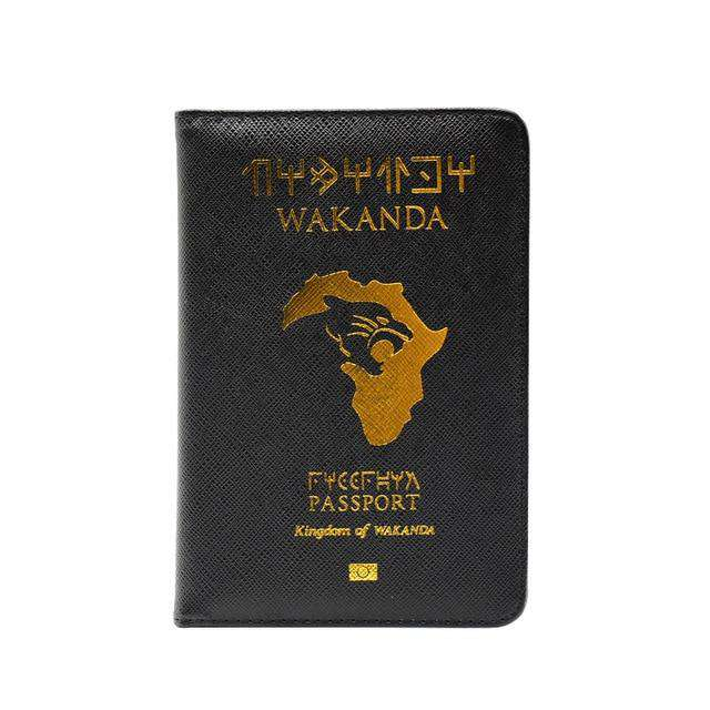 Kingdom of Wakanda Passport Cover - no-stylist-bling