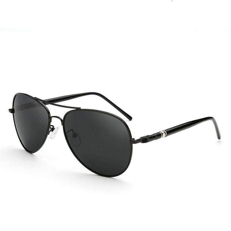 Beckham Metal Polarized Aviator Sunglasses - no-stylist-bling