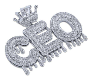 Top Dawg CEO Custom Blinged-Out Chainz - no-stylist-bling