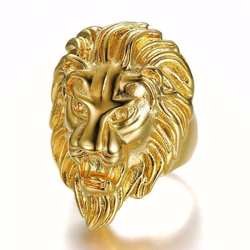 Lion Boss Ring