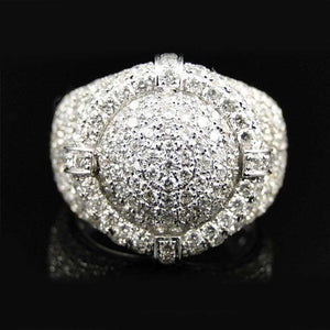 Round Bling Pinky Ring - no-stylist-bling