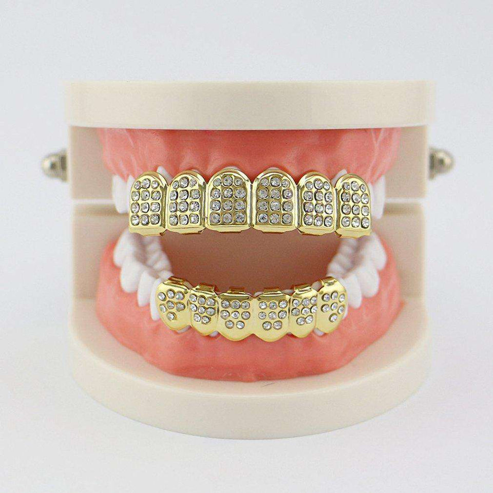 Icing in Ya Mouth Grillz - no-stylist-bling
