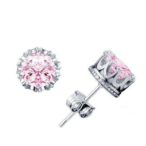 Crown Royal Crystal Ice Stud Earrings - no-stylist-bling