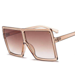 Trapstar Big Square Shaped Sunglasses - no-stylist-bling