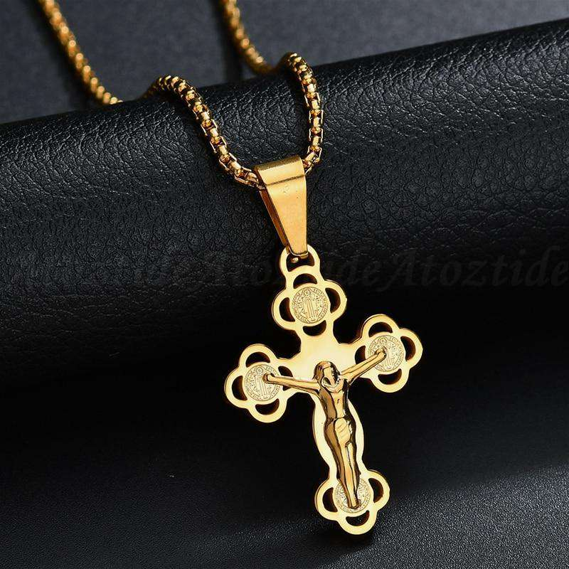Jesus Piece Necklace - no-stylist-bling