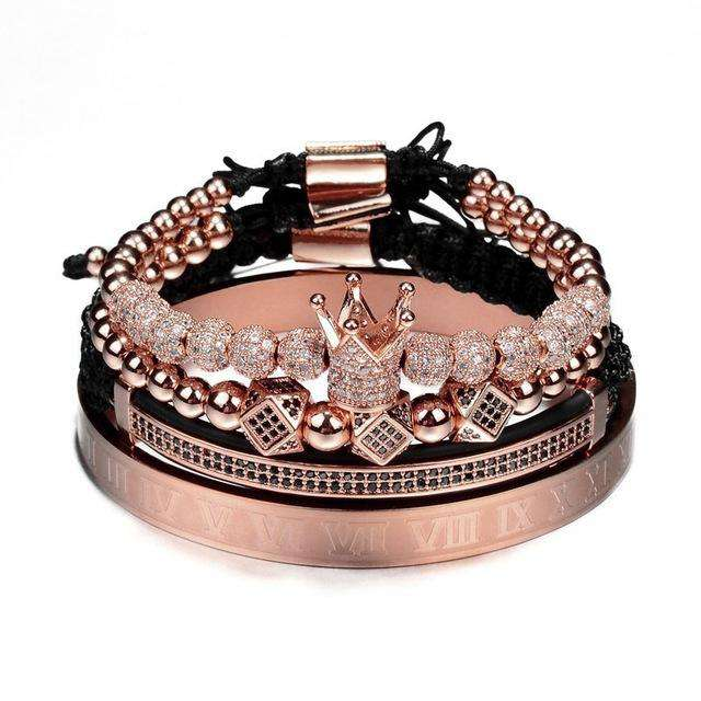 Royalty Bracelet Set + FREE Roman Bangle Today Only