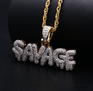 Frosty Savage Necklace
