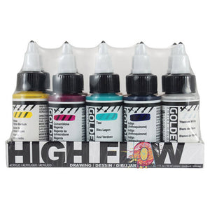 Golden Artist Colors (GAC) High Flow Drawing Set of 10 (964-0)