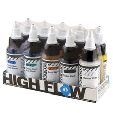 Load image into Gallery viewer, Golden Artist Colors (GAC) High Flow Acrylic, Assorted 10 Color Set For Airbrush, Staining (953-0)