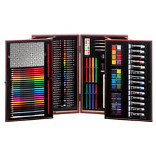 Load image into Gallery viewer, Art 101 Deluxe Art Set in Wooden Case, 201 Pieces