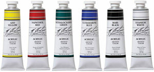M. Graham & Co. 5 Color Acrylic Set Art - Paints, Plus 6th Color
