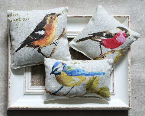 Garden Bird Lavender Bag