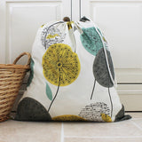 Dandelion Clock Print Laundry Bag