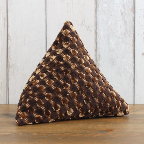 Chestnut Brown Fabric Doorstop
