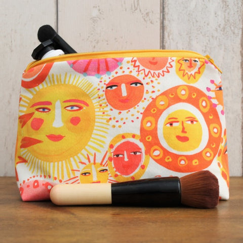 Sun Faces Makeup Bag