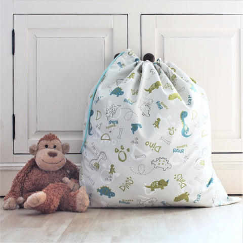 Dinosaur Print Toy Sack & Laundry Bag