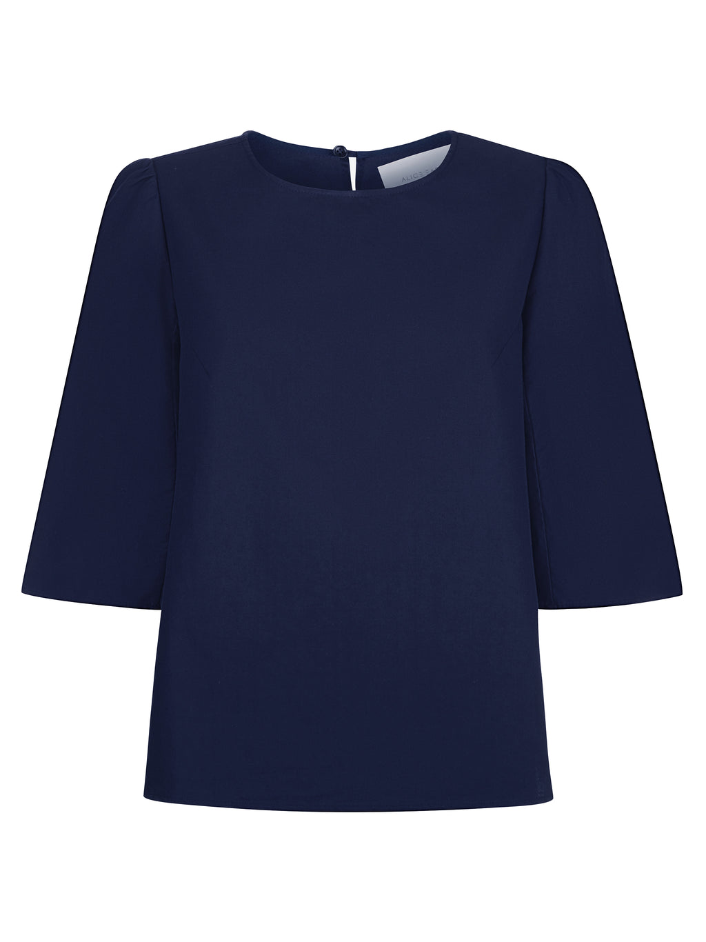 The Rachael Top - Indigo Blue