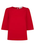 The Rachael Top - Summer Red