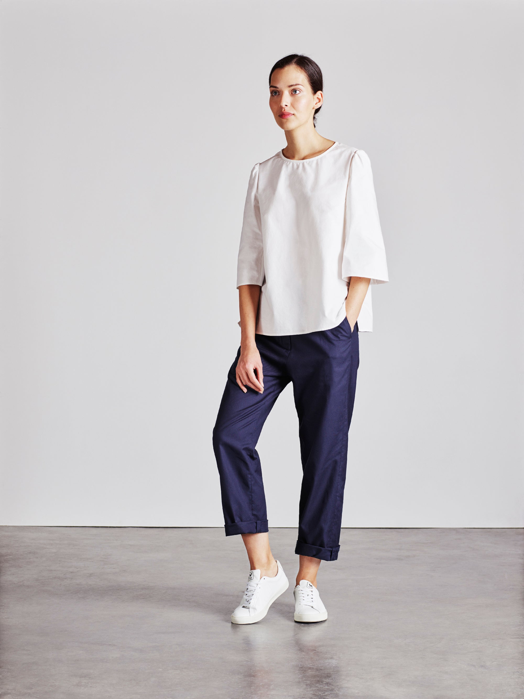 The Rachael Top - White - Alice Early