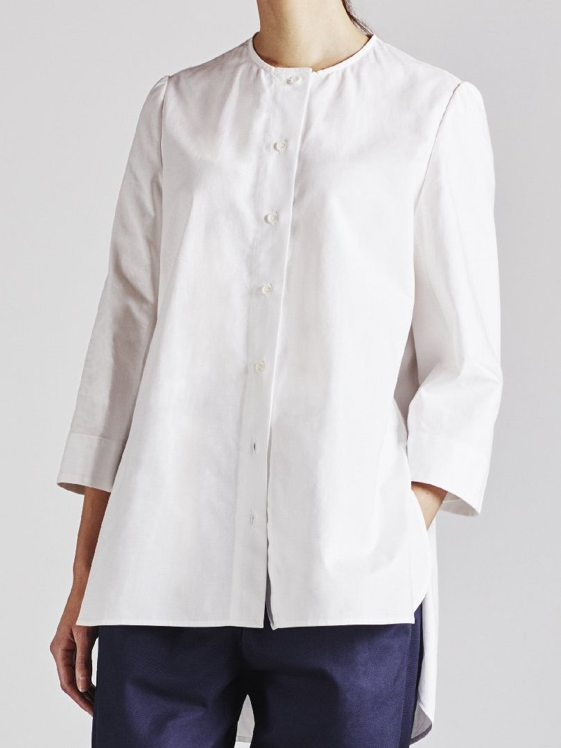 Alice Early Organic Cotton White Shirt