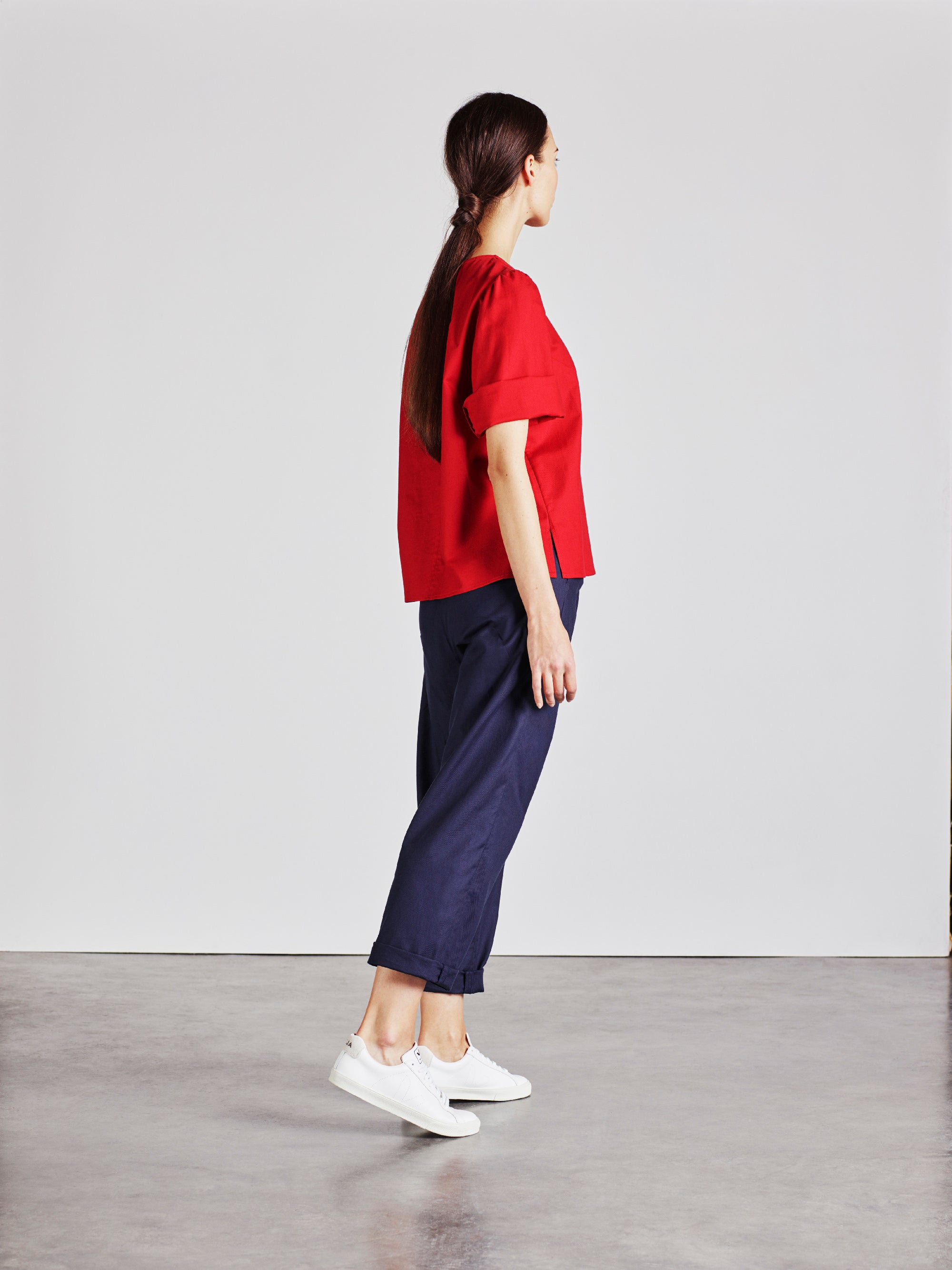 The Rachael Top - Summer Red - Alice Early