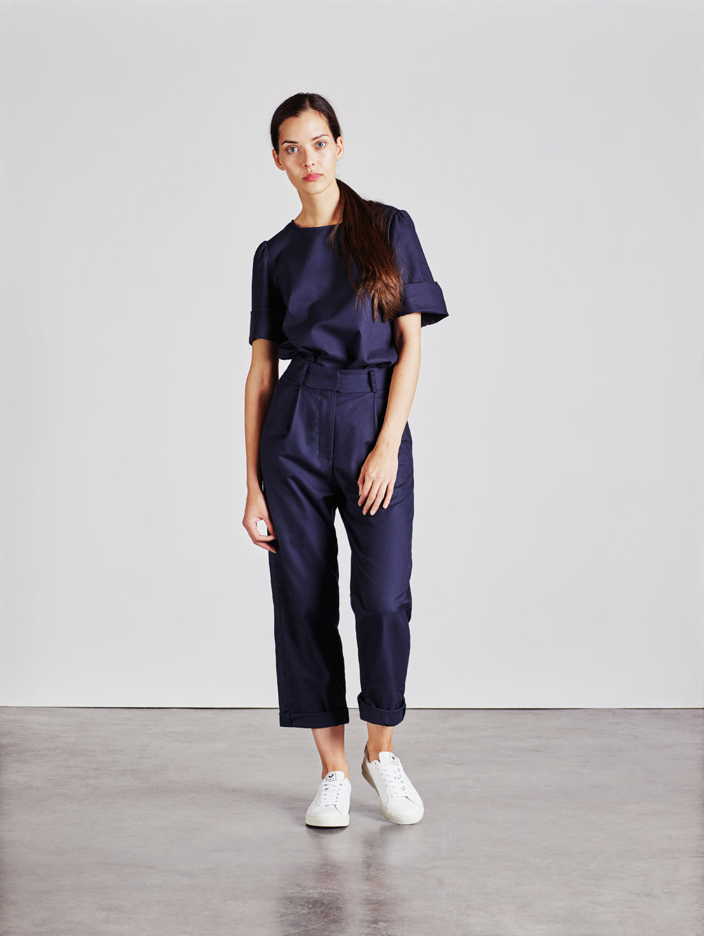 The Ford Trouser - Navy - Alice Early