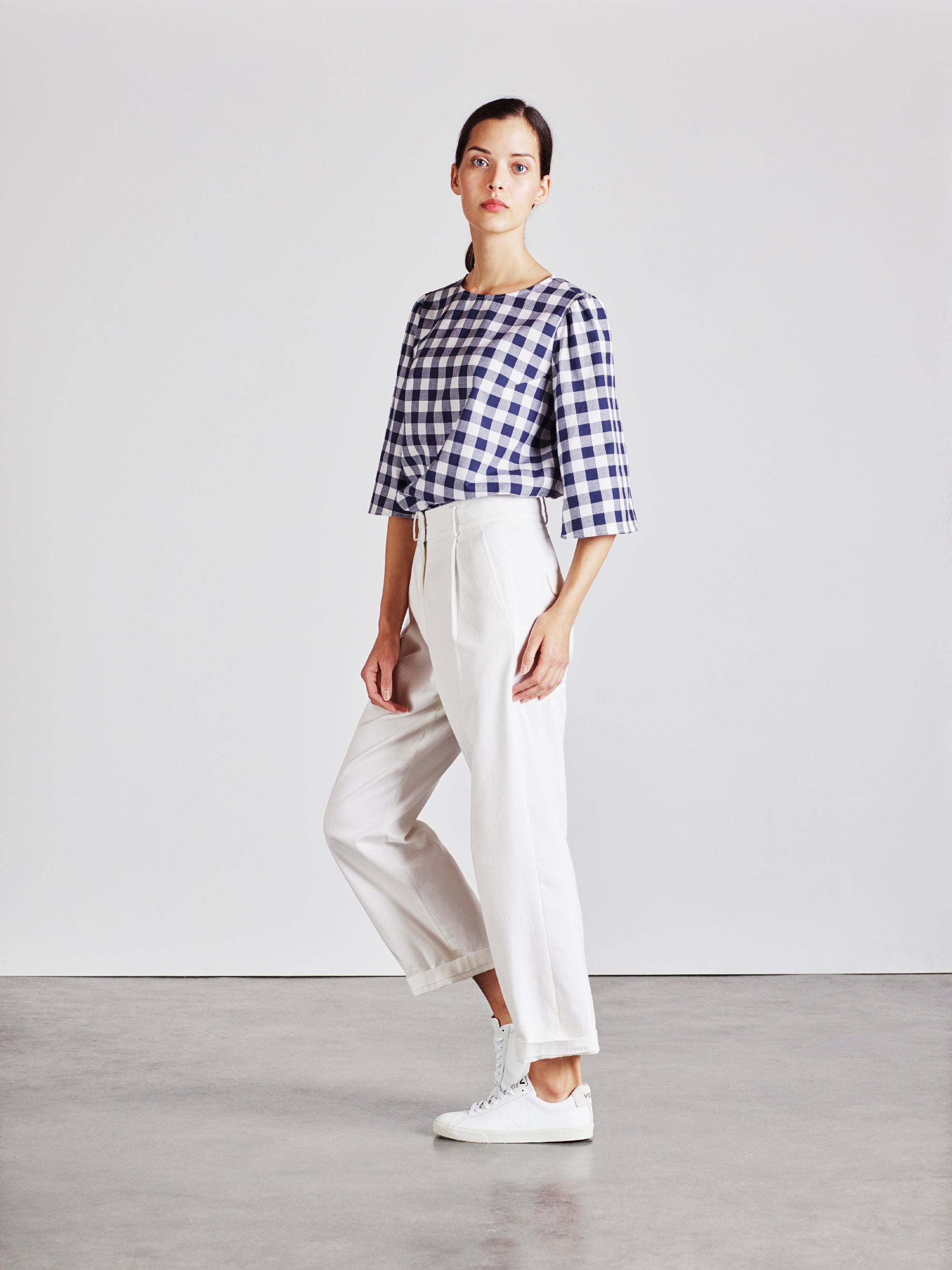The Ford Trouser - White - Alice Early