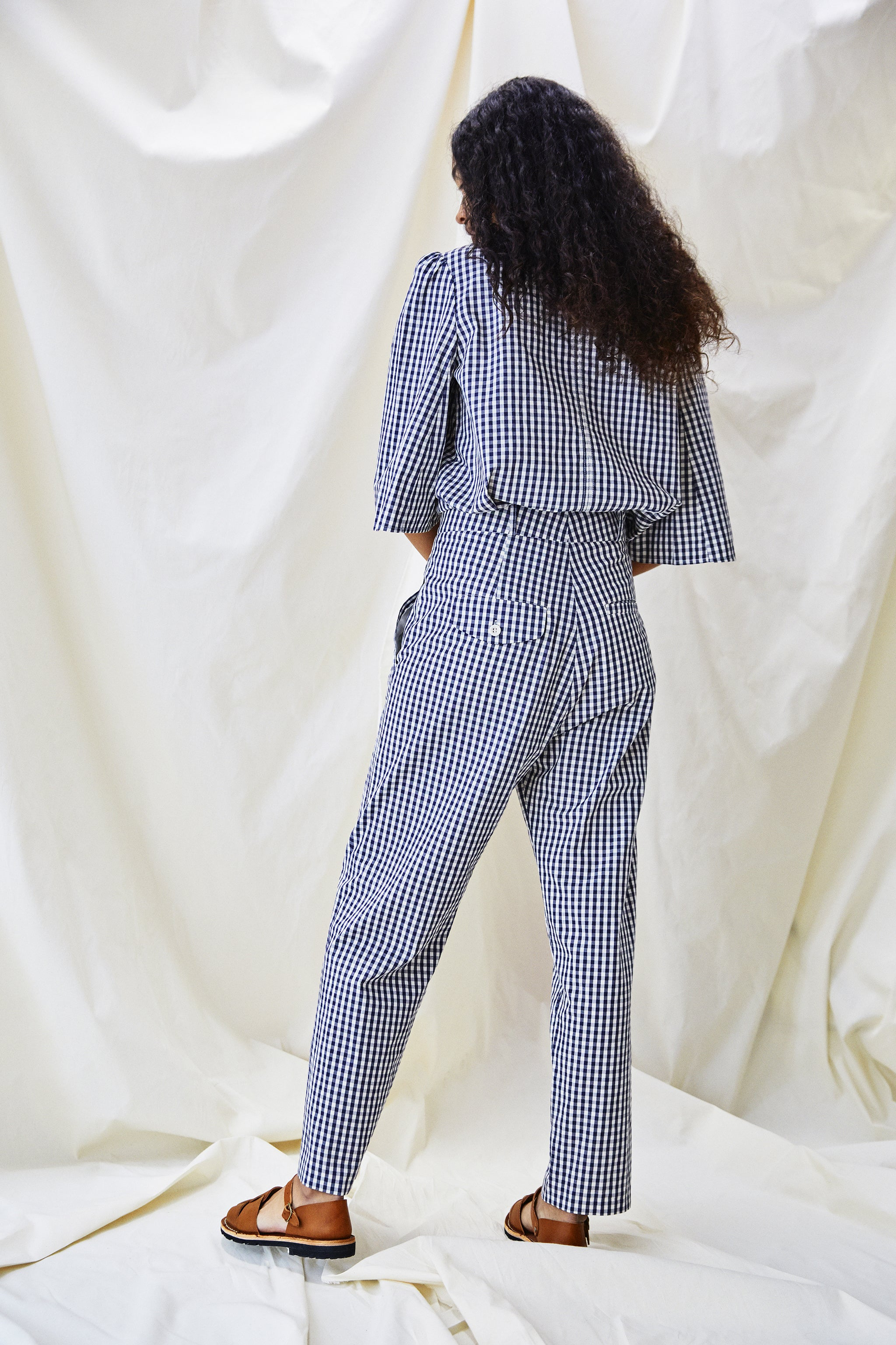The Ford Trouser - Mini Check