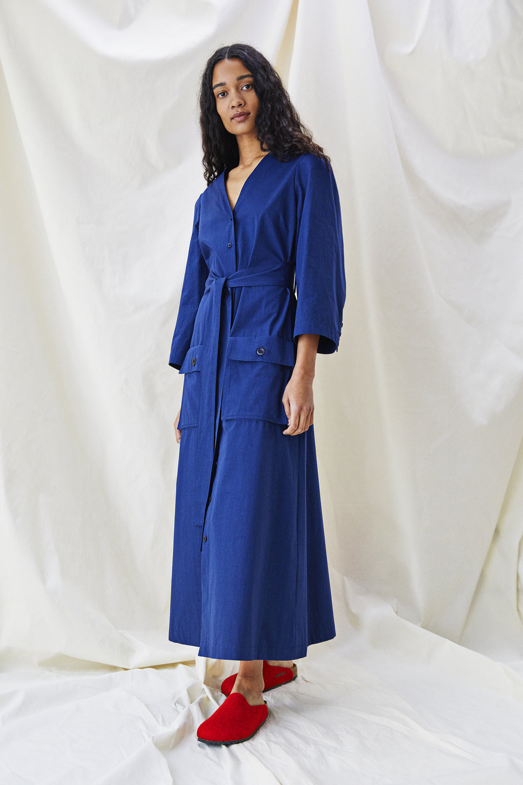 Sienna Dress - Sapphire Blue - Alice Early