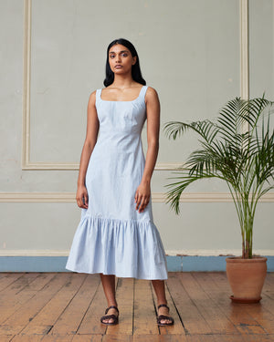 Mila Dress - Powder Blue - Alice Early