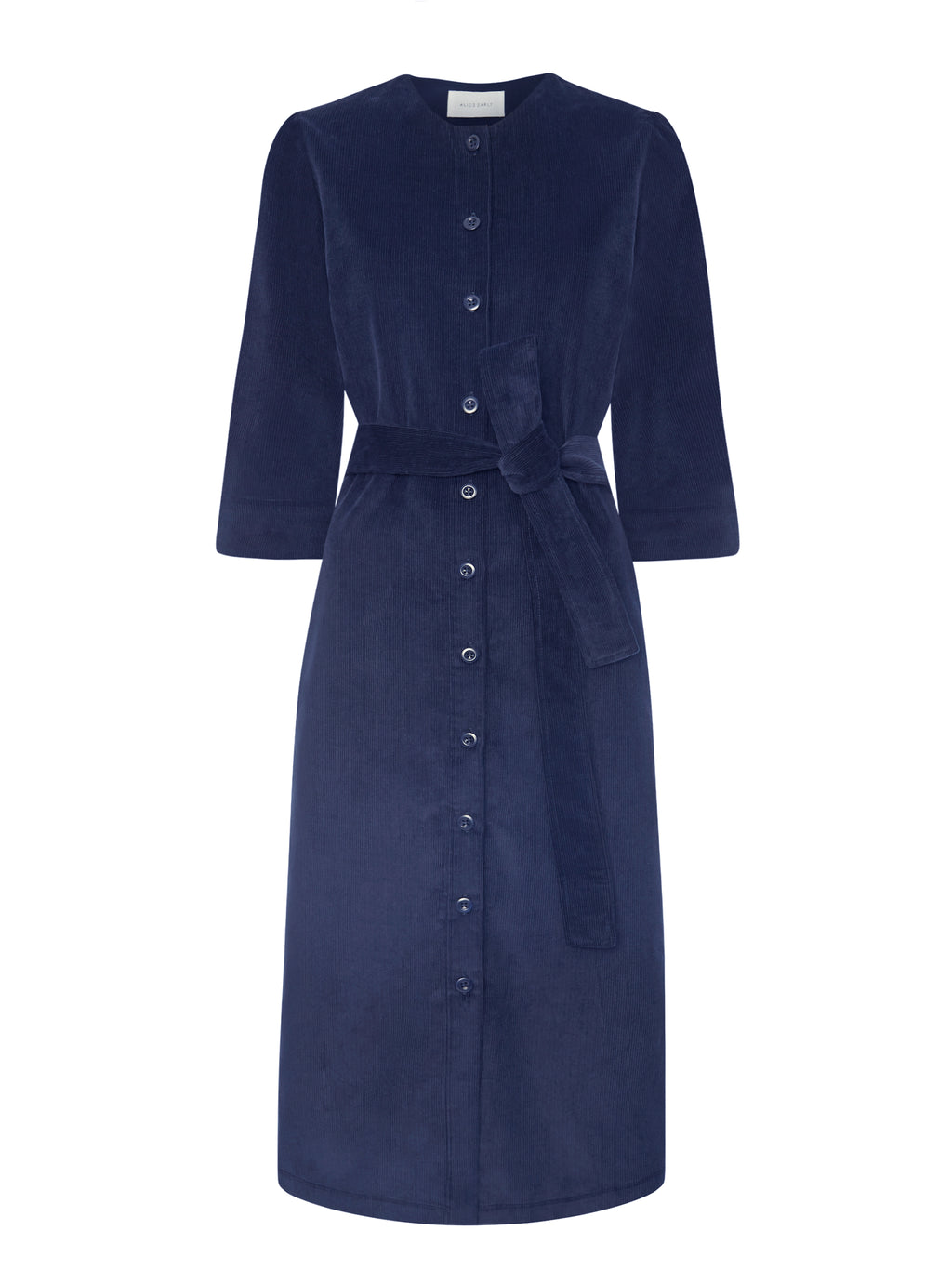 Rhianon Dress - Navy - Alice Early