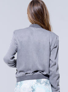 "Buddha Wear Jacke ""Joy"" in Vintage Grey"