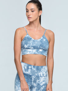 BUDDHA WEAR | Crop Top Irma | Sky Blue