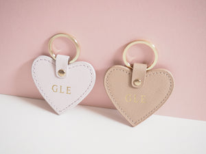 Travel Keyring - Personalised Blush Pink