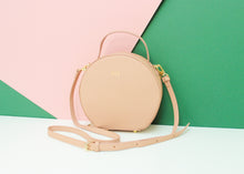 Load image into Gallery viewer, Round Shoulder Handbag - Nude