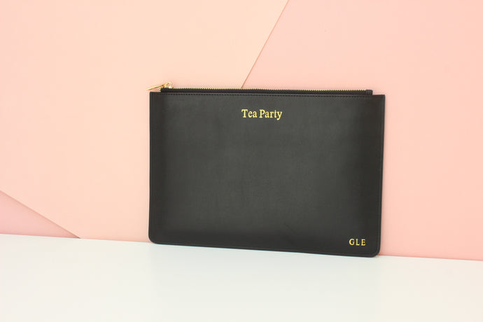 'Tea Party' Personalised Pouch