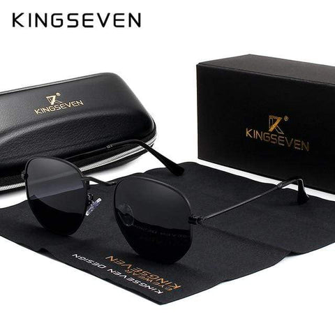 Reppit Sunglasses Black/Gray KingSeven