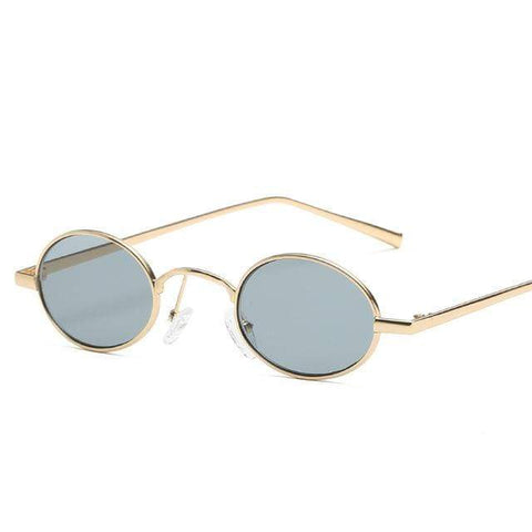 Reppit Sunglasses Gold/Black 70's