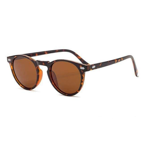 Reppit Sunglasses Leopard Brown Polarised Haze