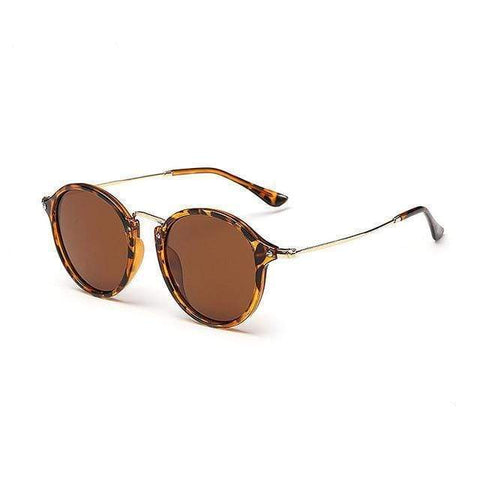 Reppit Sunglasses Leopard/Brown Polarised Ziggy