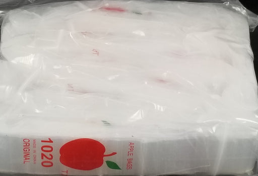 "1020 Original Mini Ziplock 2.5mil Plastic Bags 1"" x 2"" Reclosable Baggies (Clear) - The Baggie Store"